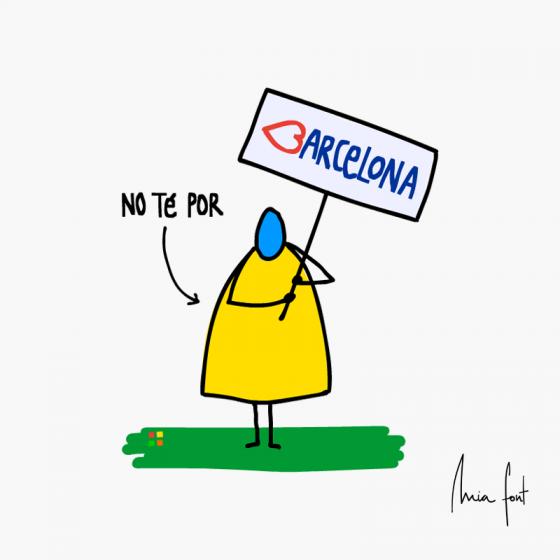 Barcelona no té por