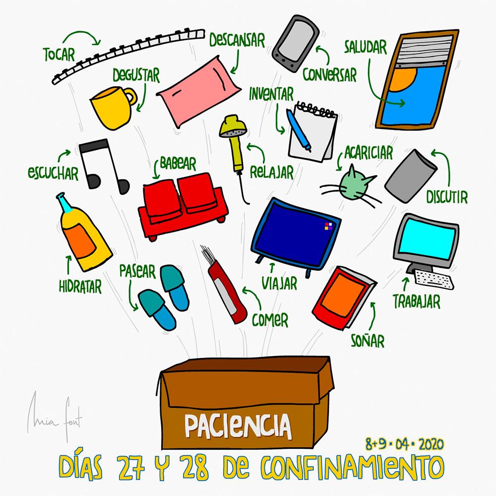 'Diario de confinamiento' by Mia Font