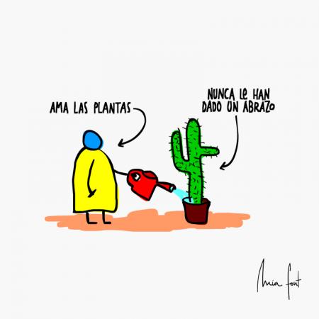 Ama las plantas