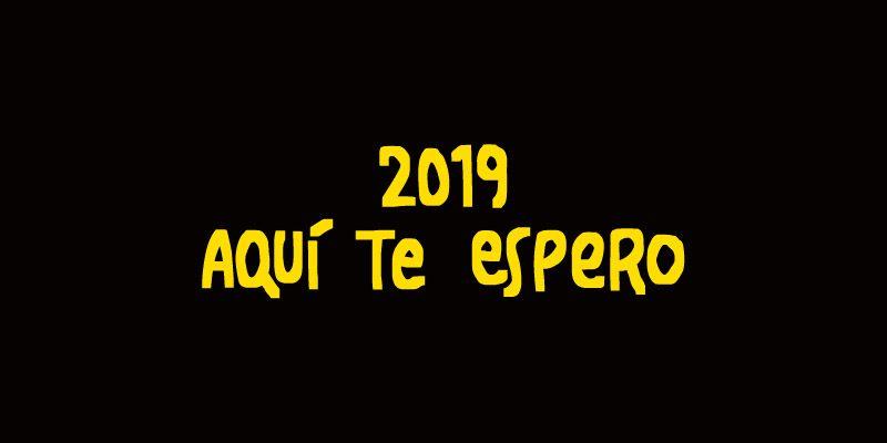 2019, aquí te espero